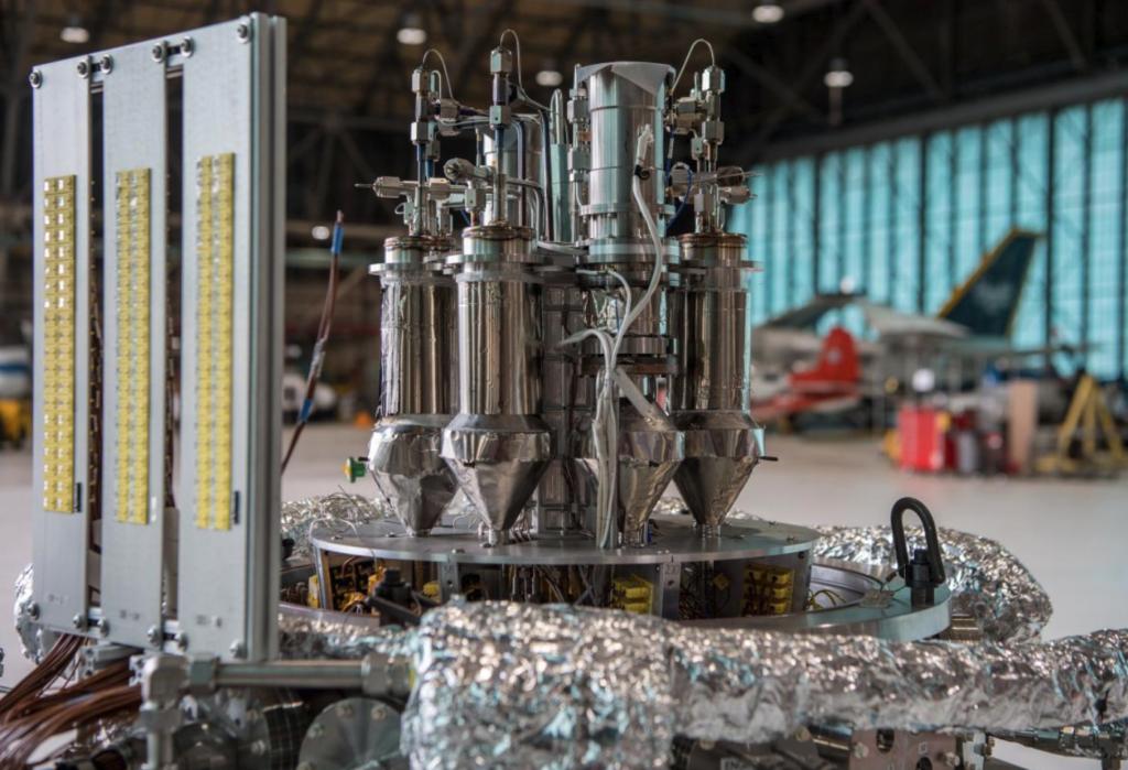 Konseptbilde av NASA-kjernekraftverket Kilopower