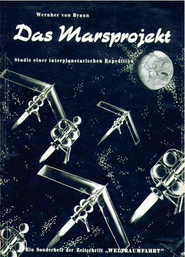 Forsiden til den tyske utgaven av Das Marsprojekt